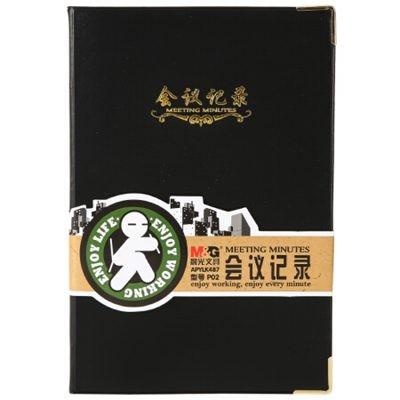 晨光APYLK487皮面本记事本A5/100页单本装
