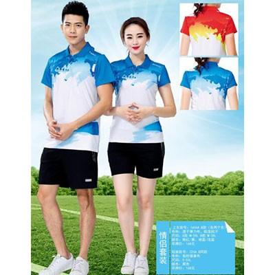 恒力短袖T恤运动上衣1165B女款蓝XL