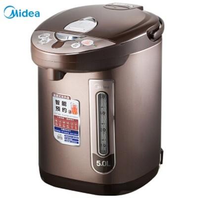 美的PF703-50T电热水瓶304不锈钢5L