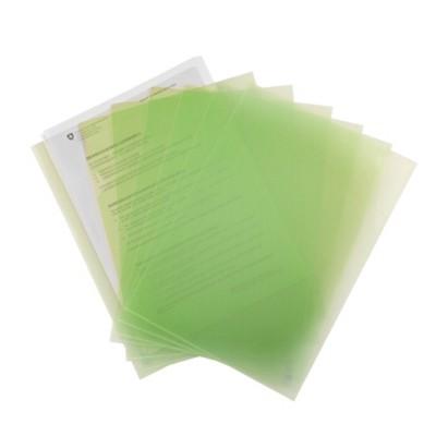 富得快A4文件夹/文件套E310绿色单个装310*220mm