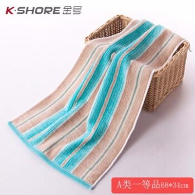 金号GA1085毛巾68*34cm绿色