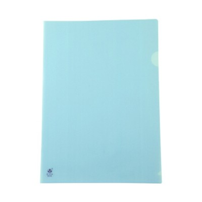 富得快A4文件夹/文件套E310蓝色单个装310*220mm