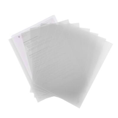 富得快A4文件夹/文件套E310白色单个装310*220mm