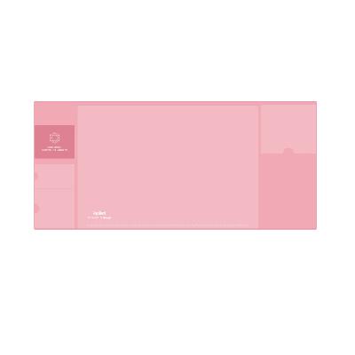 广博大号多功能收纳桌垫粉色NC2892
