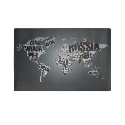 广博大号书写桌垫700*450mm世界地图NC2884