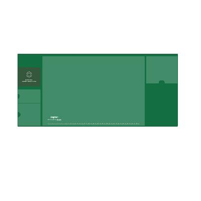 广博大号多功能收纳桌垫墨绿色NC2892