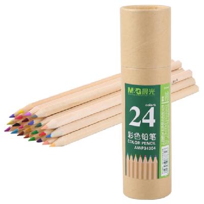 晨光24色木质绘画彩色铅笔24支/筒AWP34304