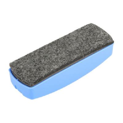 晨光蓝色绒面白板擦单个装ASC99363