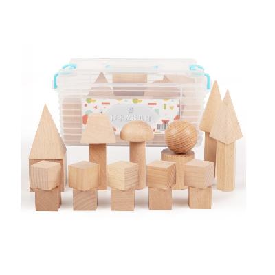 歌珊实木立体几何模型教具套装