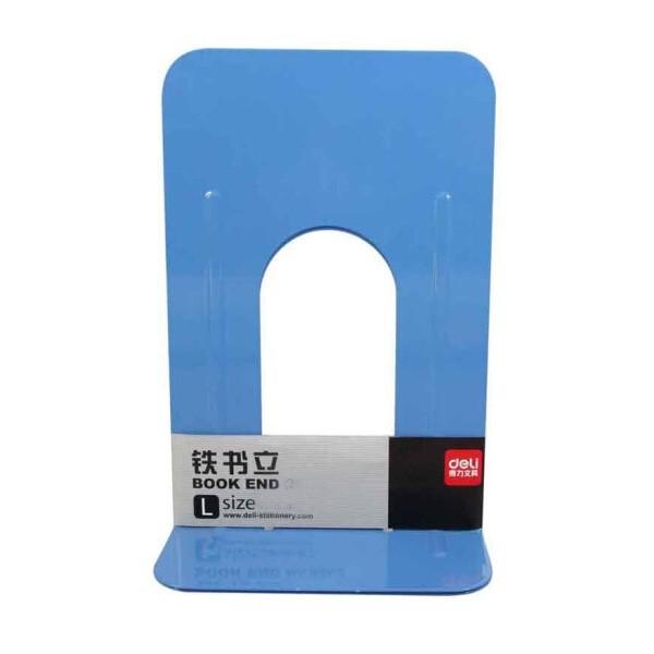得力9261桌面办公书立 6.5英寸(蓝色)2片/付