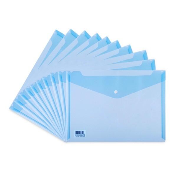 得力5505蓝色文件袋330*236mm
