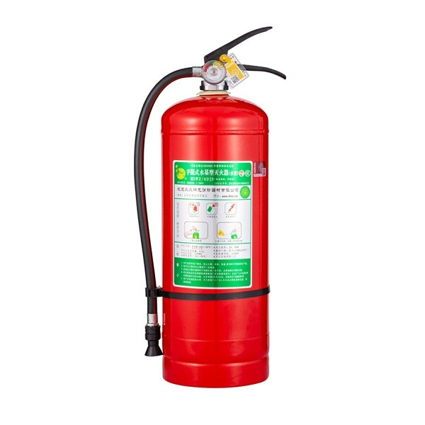 神龙MSWZ/6D20灭火器 手提式低温-20℃水基型(水雾)6L