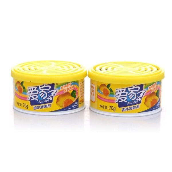 爱家 固体清香剂70g/盒 柠檬香型
