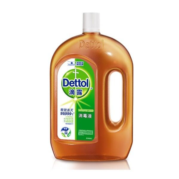 滴露 消毒液1.8L/瓶 有效杀菌99.999%