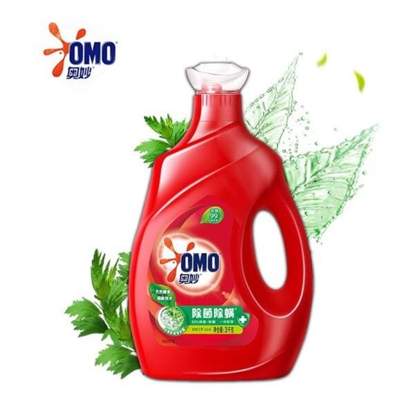 奥妙 除菌除螨全自动三合一洗衣液 3kg/瓶
