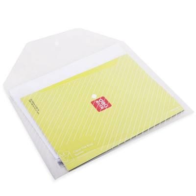 得力5501文件袋(透明)(只)
